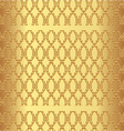 Luxury gold background vector image