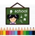 back to school icon set design vector image