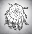 Indian Dream catcher vector image