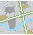 Roadway Map vector image vector image