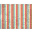 Retro striped background vector image