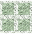 elm leaves seamless vector image