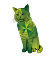 Sitting Cat vector image