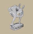 Plyboy Award vector image