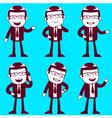 businessmen vector image