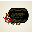 Elegance vintage frames for your text vector image vector image