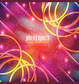 shiny innovative abstract background vector image
