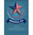 memorial day7 vector image