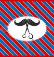 design barber shop vector image