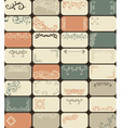 32 retro business cards vector image vector image