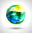 Spot Earth vector image