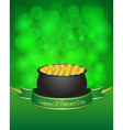 st patricks day card vector image