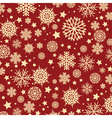 snowflake background 1010 vector image vector image