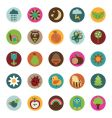 nature badges vector image vector image