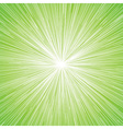 Sun Burst Blast Background Green vector image