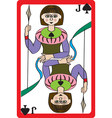 jack spades vector image vector image