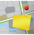 Map Message vector image