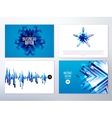 Modern abstract banners for business vector image