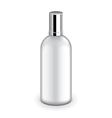 Plastic bottle with metallic cap isolated vector image