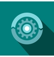 Setting parameters icon flat style vector image