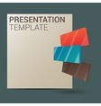 Modern Design template vector image vector image