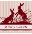 antique Easter background vector image