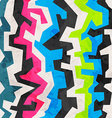 abstract colored geometric grunge seamless pattern vector image