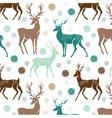 deer wallpaper vector image vector image