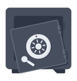 Broken Safe Icon vector image