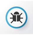 bug icon symbol premium quality isolated virus vector image