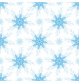 christmas pattern snowflake seamless background vector image