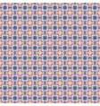 Flower and square seamless pattern 1606 vector image