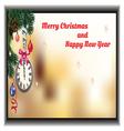 small greeting card vector image