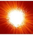 exploson vector image vector image