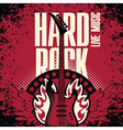 hard rock music vector image