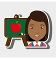 student school board graphic vector image