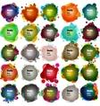 Set of Speech bubbles EPS 10 vector image