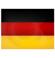Vintage Germany Flag vector image vector image