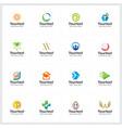 creative logo collection vector image