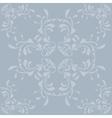 Vintage blue pattern background vector image