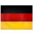 Vintage Germany Flag vector image