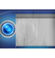 template blue target vector image vector image
