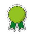 quality seal green isolated icon vector image