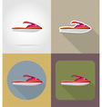 transport flat icons 61 vector image