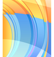 background abstract color design vector image