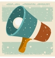 old megaphone poster isolated icon design vector image