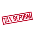 Tax Reform rubber stamp vector image vector image