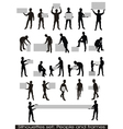 people and frames vector image vector image