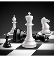 Chess Game Realistic vector image