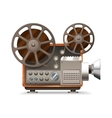 Film Projector Realistic vector image